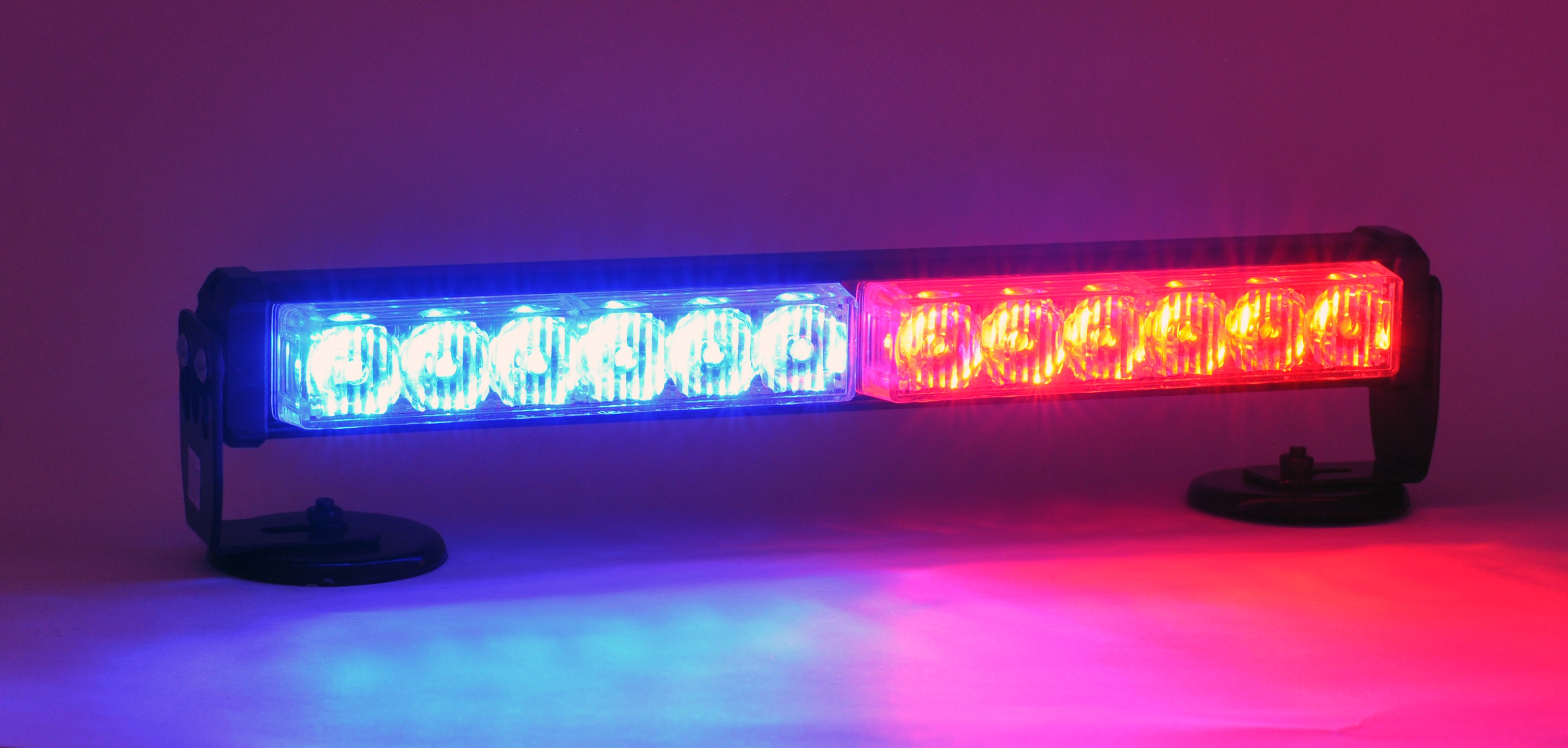 Police Interior Lights Interior Light Bar Red/