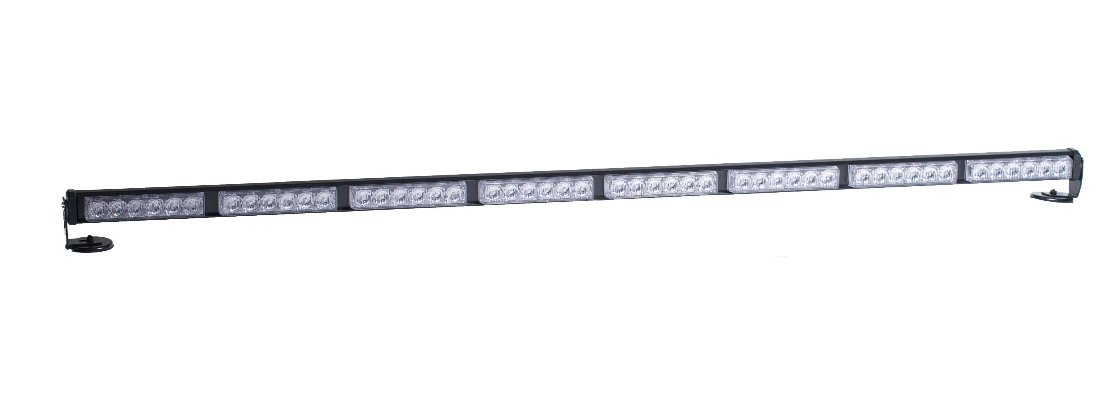 """Amber / Amber Dash 50"""" LED Interior Light Bar, Traffic Advisor"""