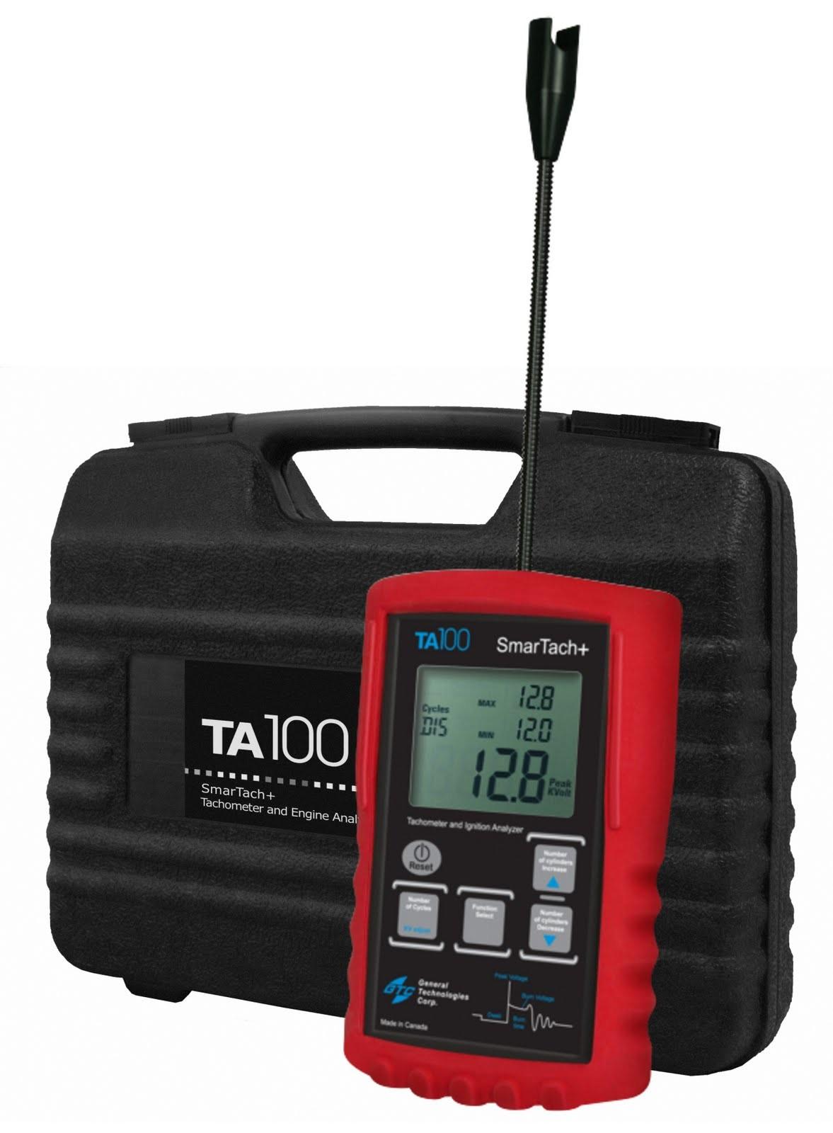 GTC TA100 Smartach+ Wireless Ignition Analyzer and Tachometer